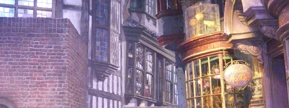 Harry-Potter, Diagon Alley,