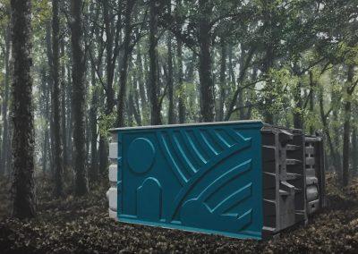 node pt 1  - acrylic on canvas. 106 x 120cm